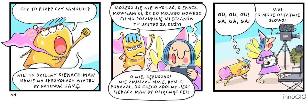 komiks siekacz