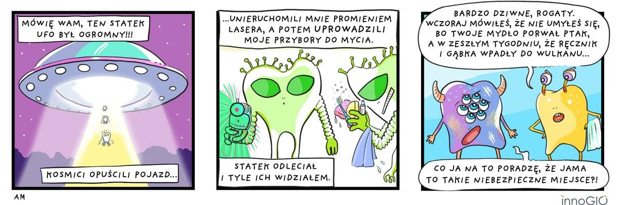 komiks kosmici