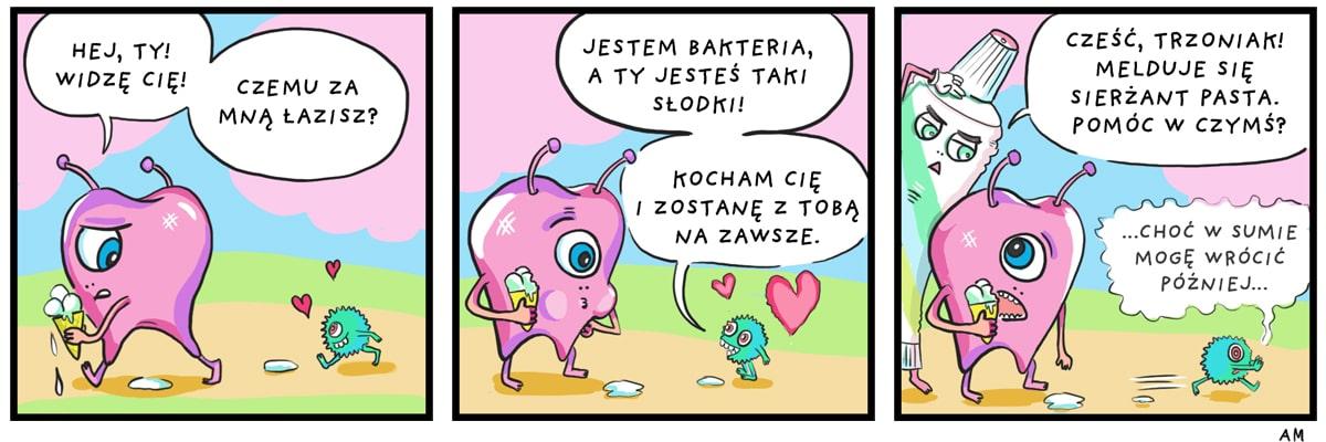 Komiks bakteria