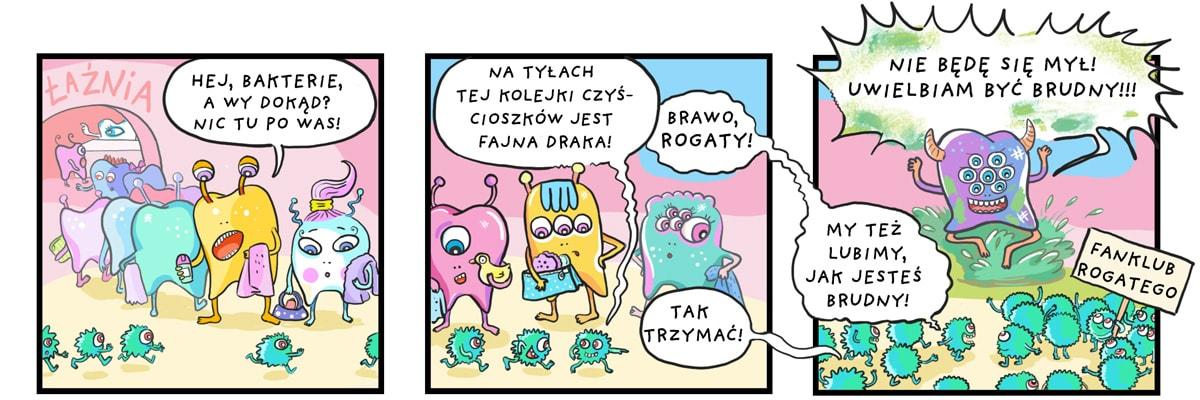 komiks rogaty