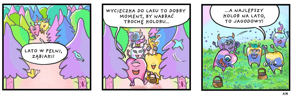 komiks jagody