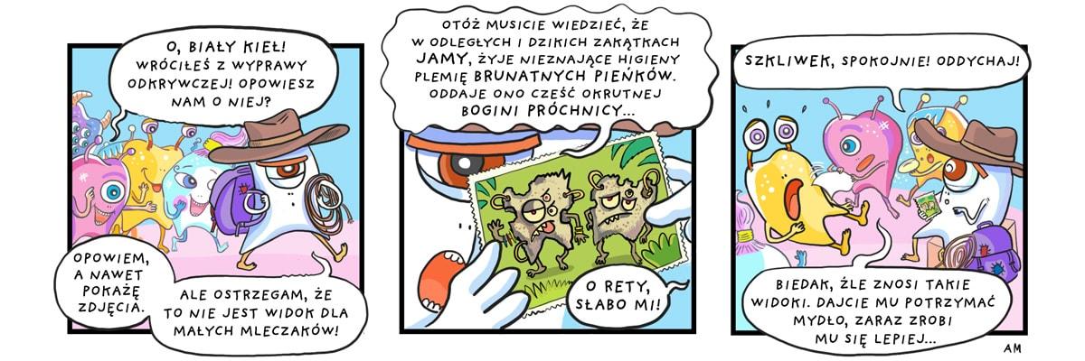 komiks biały kieł