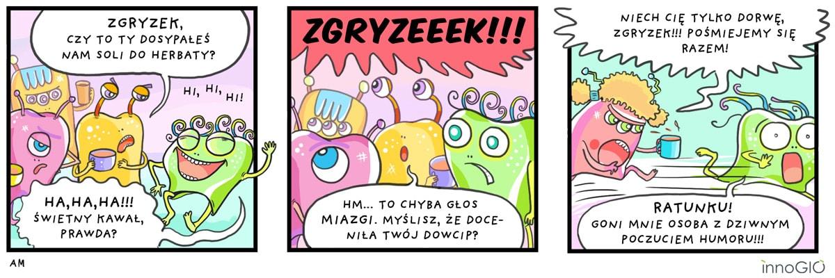 komiks zgryzek